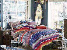 """תמונה של מצעי כותנה """"אוריאן"""" - 197 חוט לאינץ!! מיטת זוגית רחב 4 חלקים   B-2002"""
