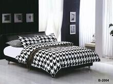 """תמונה של מצעי כותנה """"אוריאן"""" - 197 חוט לאינץ!! מיטת זוגית רחב 4 חלקים   B-2004"""