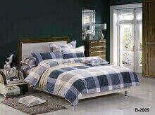 """תמונה של מצעי כותנה """"אוריאן"""" - 197 חוט לאינץ!! מיטת זוגית רחב 4 חלקים   B-2009"""