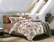 """תמונה של  מצעי כותנה """"אוריאן"""" - 197 חוט לאינץ!! מיטת זוגית רחב 4 חלקים   B-2001"""