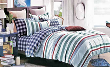 תמונה של סט ביוטי 100% כותנה מיטה זוגית 4 חלקים רחב | 2061
