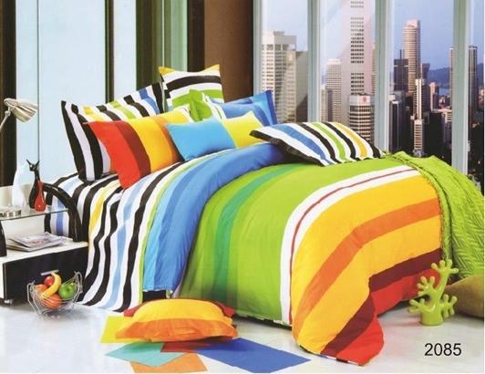 תמונה של סט ביוטי 100% כותנה מיטה זוגית 4 חלקים  | 2085