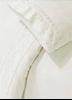 תמונה של סט גלורי 100% כותנה פרנקל בשילוב תחרה  לבן שילוב רקמה לבן