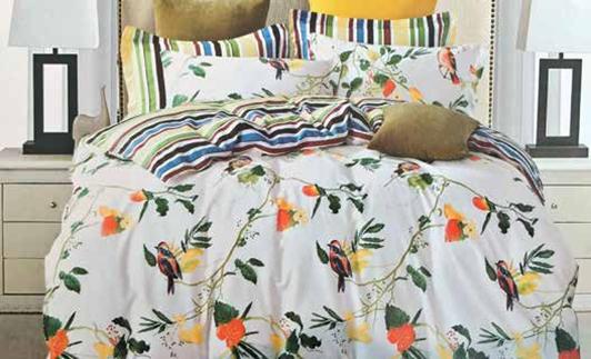 תמונה של סט ביוטי 100% כותנה מיטה זוגית 4 חלקים  | 2087