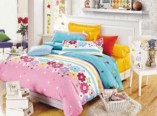 תמונה של סט ביוטי 100% כותנה מיטה זוגית 4 חלקים רחב | C-3000