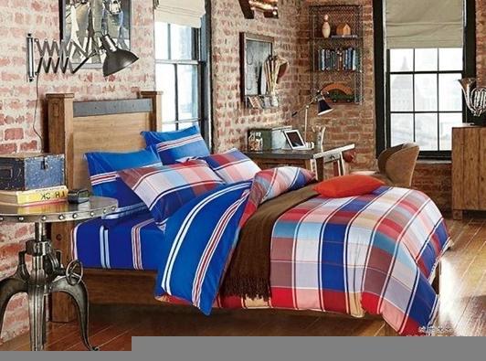 תמונה של סט ביוטי 100% כותנה מיטה וחצי 3 חלקים  | C-3001