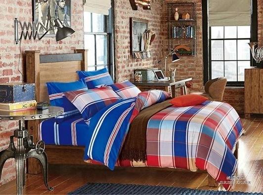 תמונה של סט ביוטי 100% כותנה מיטה זוגית 4 חלקים רחב  | C-3001