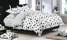 תמונה של סט ביוטי 100% כותנה מיטה זוגית 4 חלקים רחב | 2057