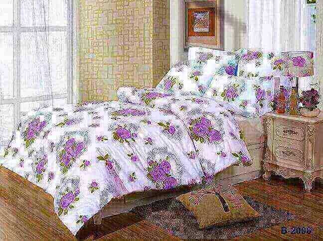"""תמונה של מצעי כותנה """"אוריאן"""" - 197 חוט לאינץ!! מיטה זוגית 4 חלקים   B-2006"""