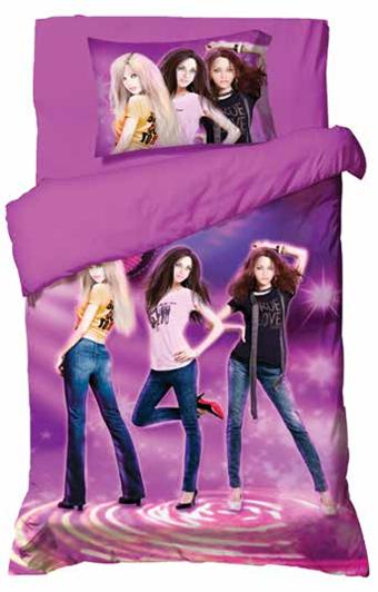 תמונה של סט ריאקטיב ילדים ונוער אל קמט 5D מיטת יחיד 3 חלקים  | |נערות