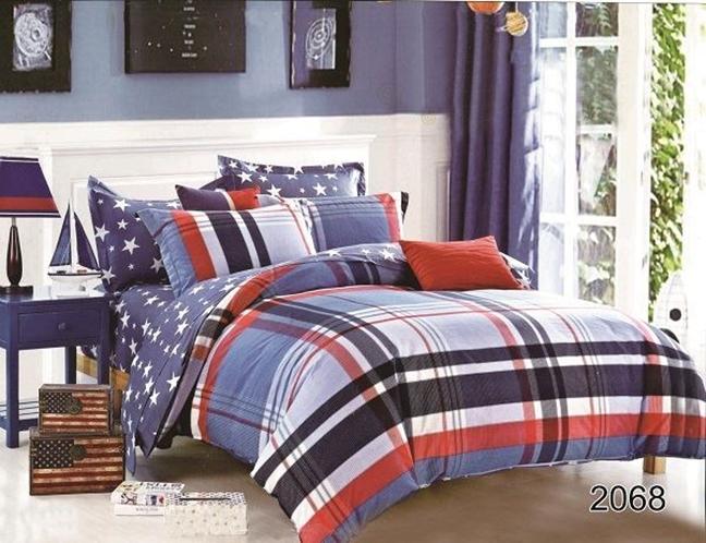 תמונה של סט ביוטי 100% כותנה מיטה זוגית 4 חלקים רחב   2068