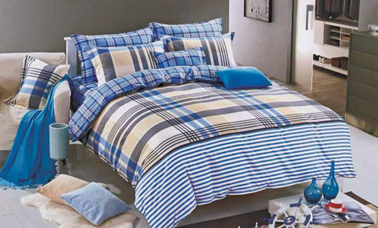 תמונה של סט ביוטי 100% כותנה מיטה וחצי 3 חלקים  | 2071