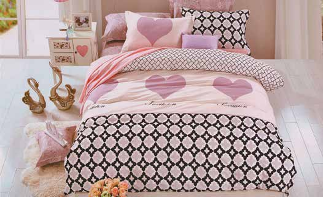 תמונה של סט ביוטי 100% כותנה מיטה זוגית 4 חלקים   2073