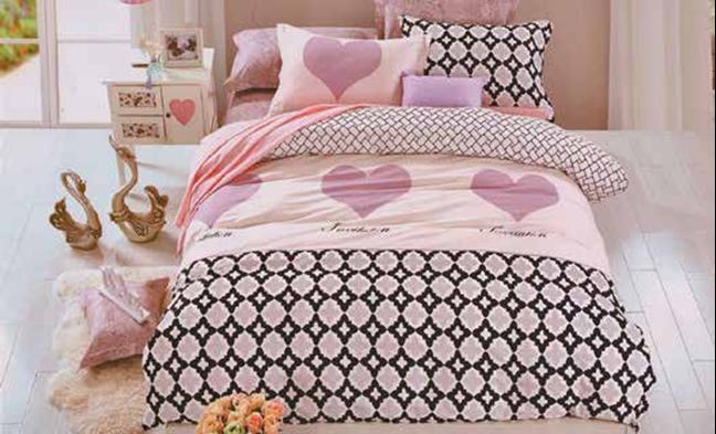 תמונה של סט ביוטי 100% כותנה מיטה זוגית 4 חלקים רחב   2073