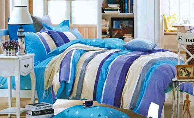 תמונה של סט ביוטי 100% כותנה מיטה זוגית 4 חלקים    2074