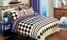 תמונה של סט ביוטי 100% כותנה מיטה זוגית 4 חלקים  | 2075
