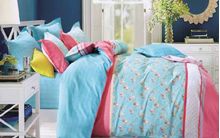 תמונה של סט ביוטי 100% כותנה מיטה זוגית 4 חלקים רחב |  2084