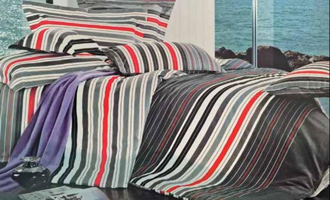 תמונה של סט ביוטי 100% כותנה מיטה זוגית 4 חלקים רחב    2089