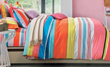 תמונה של סט ביוטי 100% כותנה מיטה זוגית 4 חלקים רחב    2088