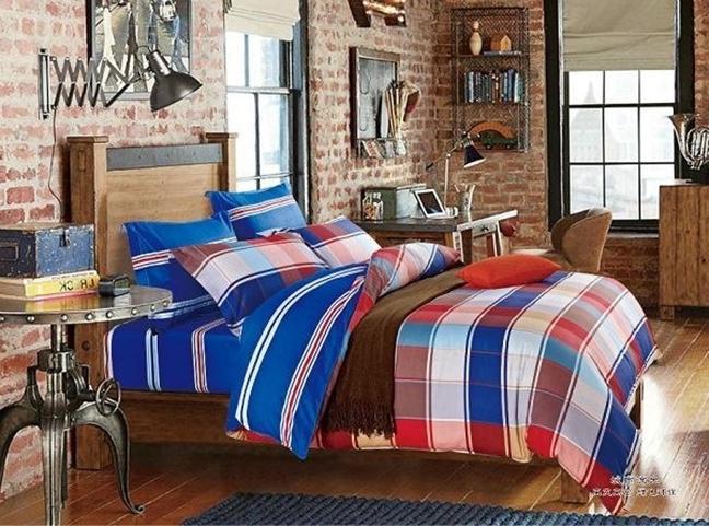 תמונה של סט ביוטי 100% כותנה מיטה זוגית 4 חלקים רחב    C-3001